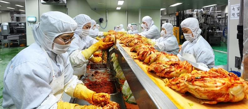 [보도자료]㈜이킴 일본 시장 90% 점유… 국내 김치 수출업계 '빅3' 도약